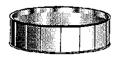 Circular bolted liner tank